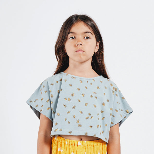 Daisy Cropped Sweatshirt by Bobo Choses