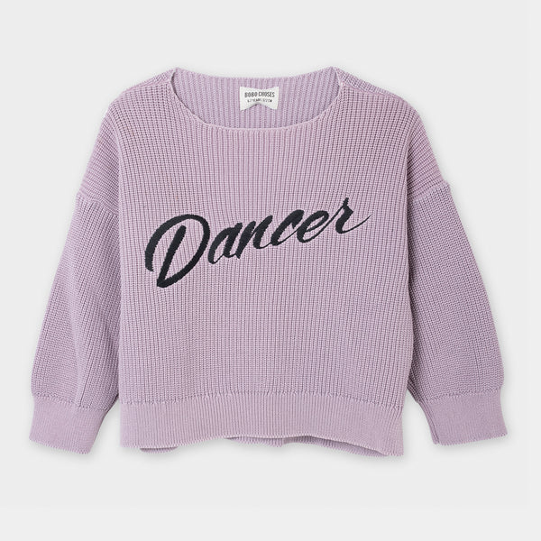 Dancer Knitted Jumper by Bobo Choses