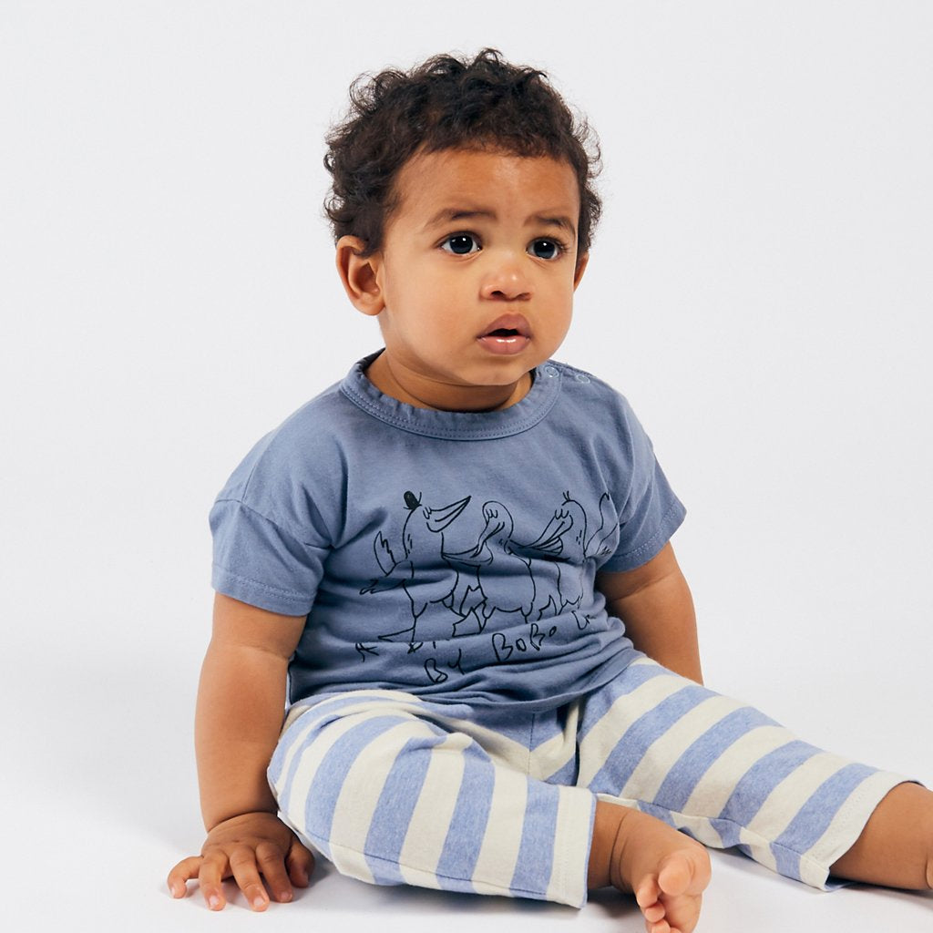 Baby Dancing Birds Tee by Bobo Choses