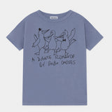 Dancing Birds Tee by Bobo Choses