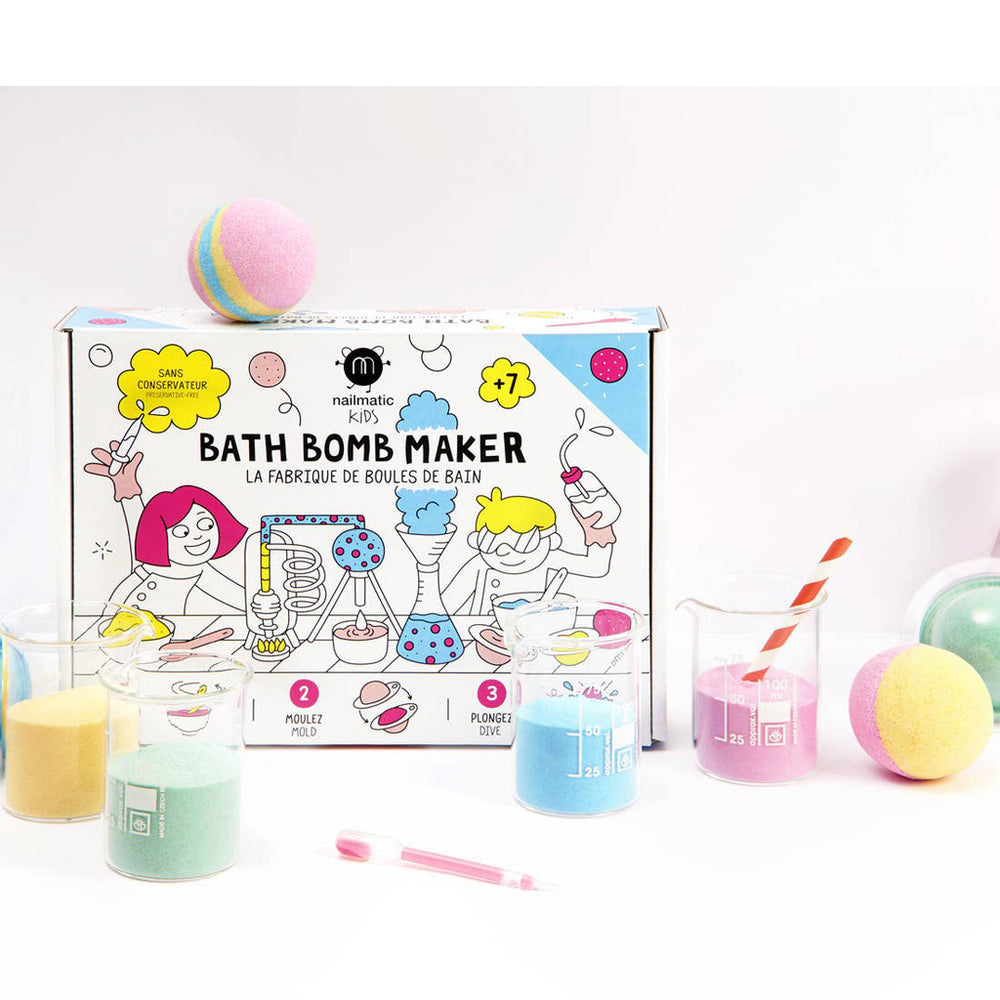 DIY Bath Bomb Maker by Nailmatic