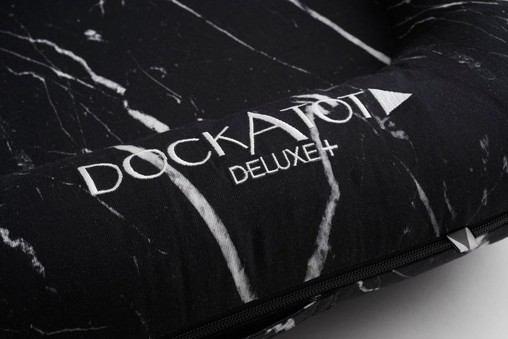 Load image into Gallery viewer, DockATot Deluxe+ Dock- Black Marble