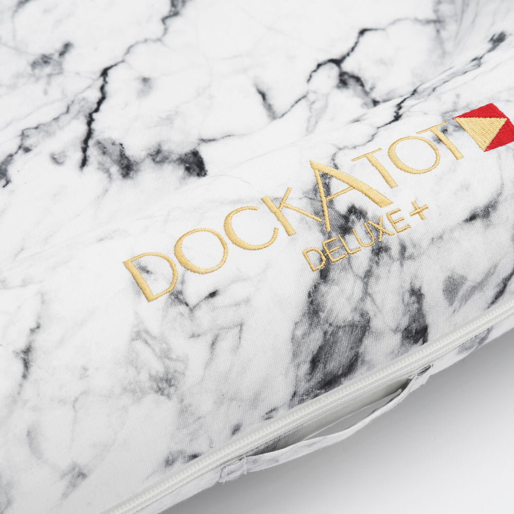 Load image into Gallery viewer, DockATot Deluxe+ Cover- Carrara Marble