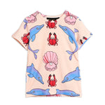 Dolphin Tee by Mini Rodini