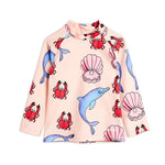 Dolphins UV Top by Mini Rodini