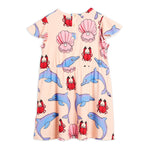 Dolphin Wing Dress by Mini Rodini