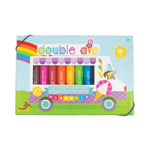 Double Dip Ice Cream Scented Markers by Ooly