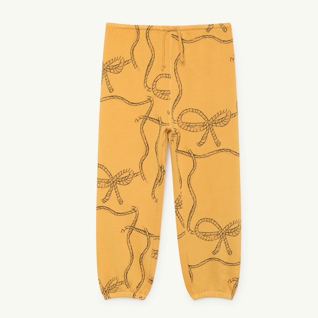 Dromedary Kids Pants in Yellow Ropes by The Animals Observatory