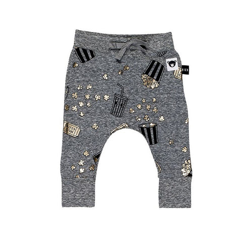 Popcorn Drop Crotch Pant by Huxbaby