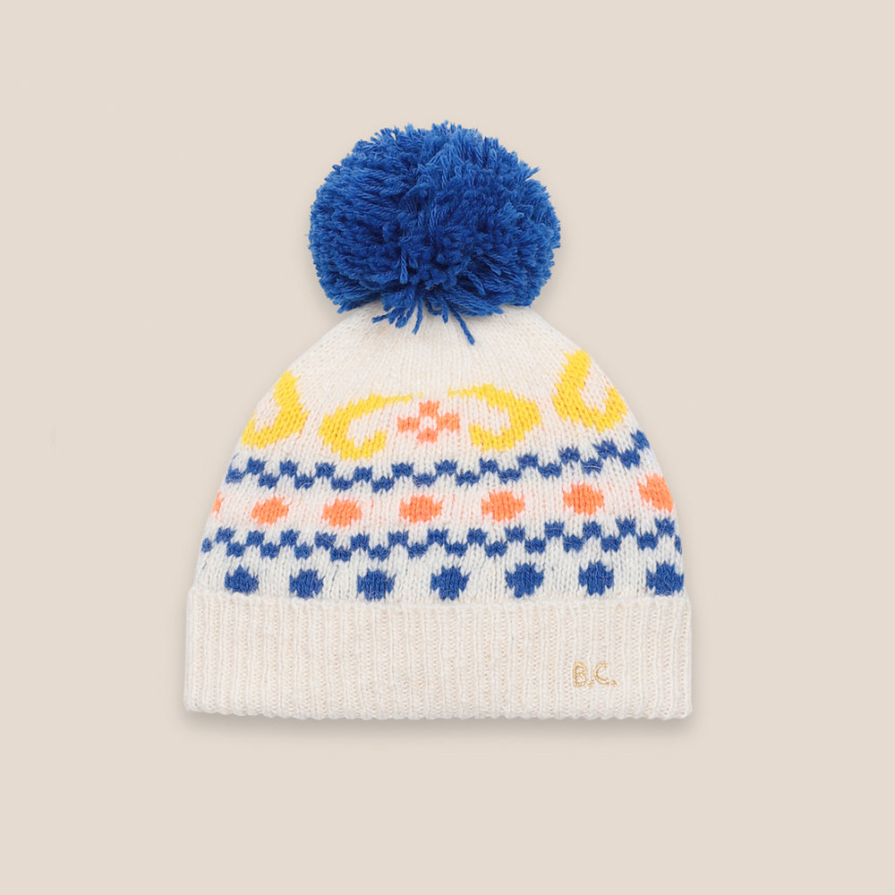 Load image into Gallery viewer, Eclipse PomPom Beanie by Bobo Choses