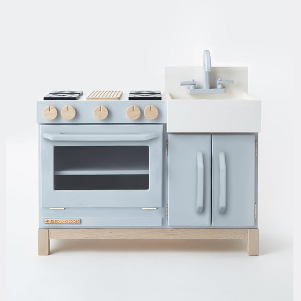 Essential Play Kitchen Gray by Milton and Goose