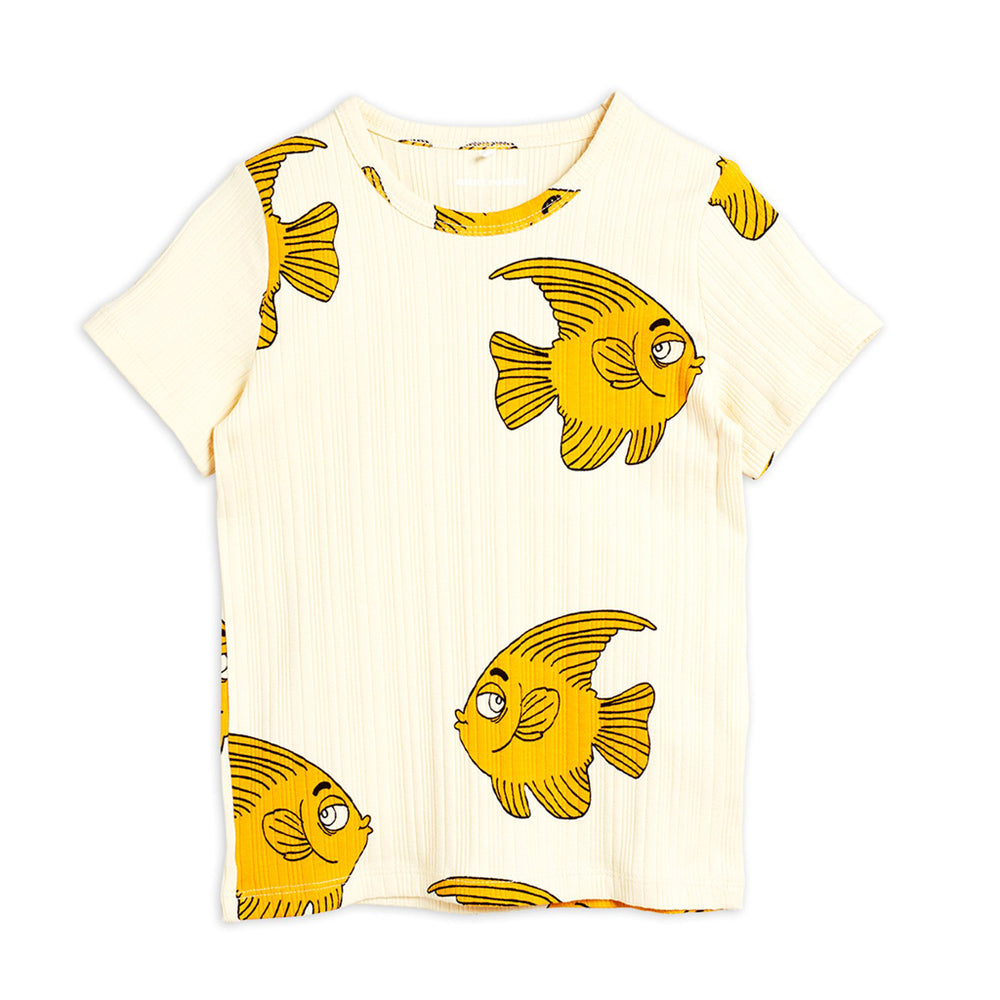 Fish Tee by Mini Rodini