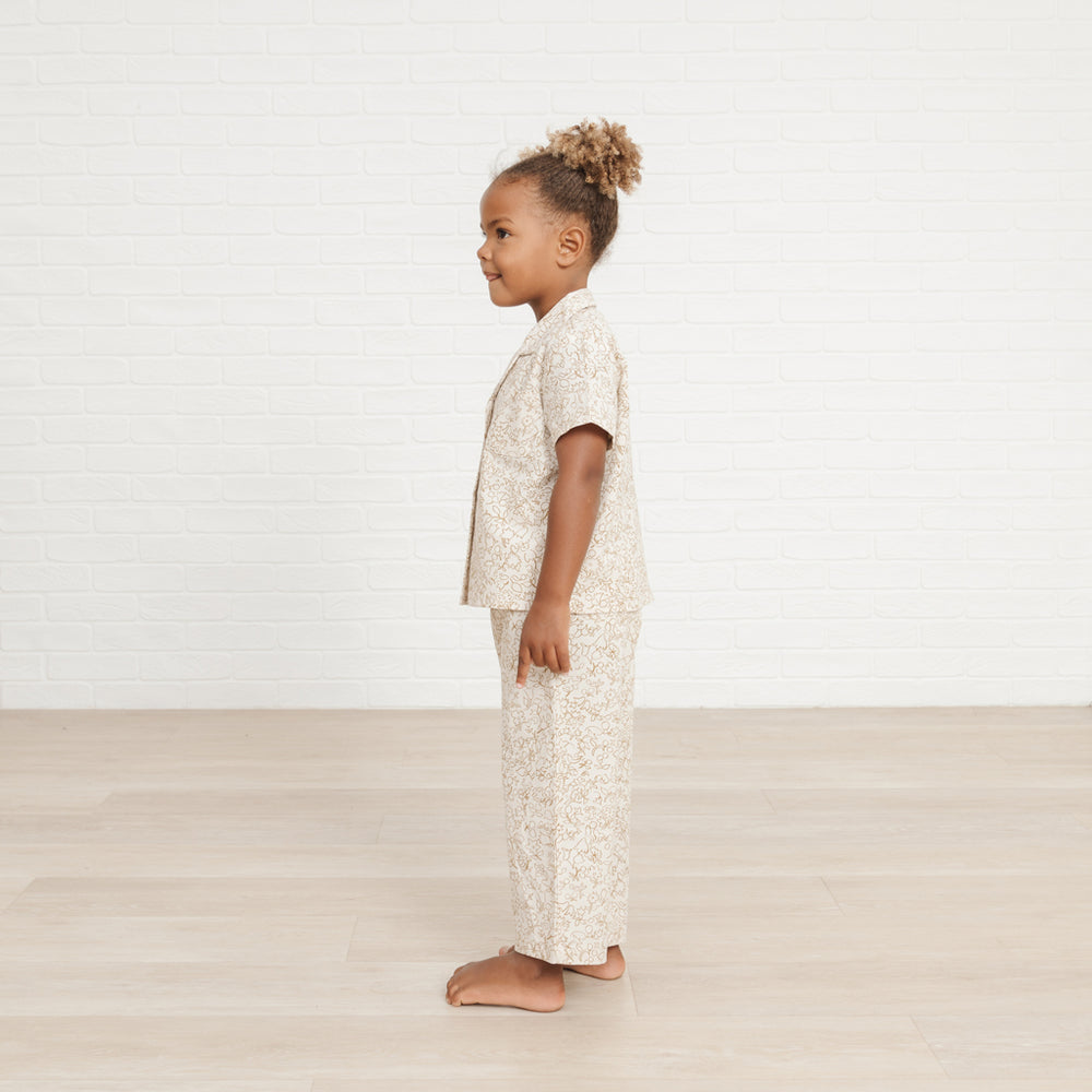 Garden Outline Pajama Set by Rylee and Cru