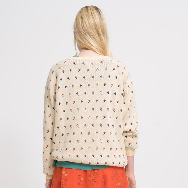 Flowers Jumper by Bobo Choses- Growing Young