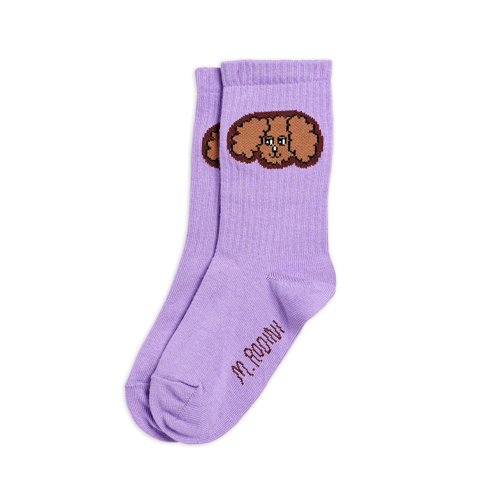 Fluffy Dog Socks by Mini Rodini