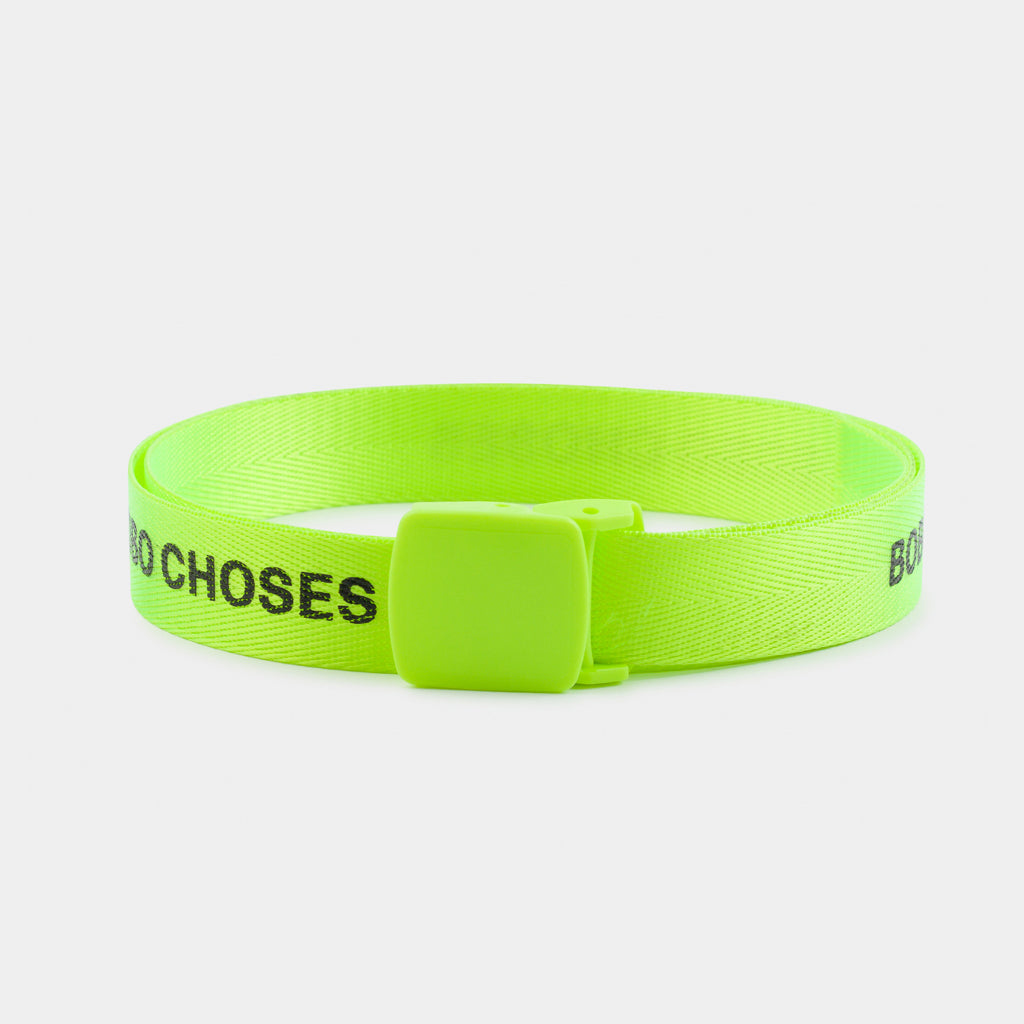 Fluo Lime Belt by Bobo Choses