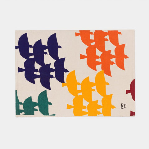 Flying Birds Rug by Bobo Choses