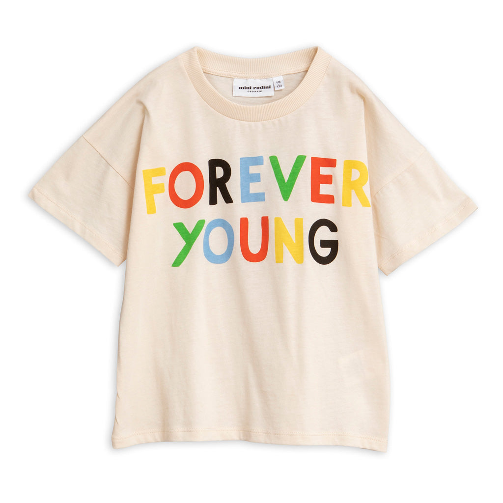 Forever Young Tee by Mini Rodini