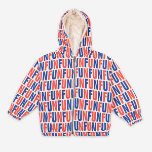 Fun All Over Hooded Sweatshirt by Bobo Choses