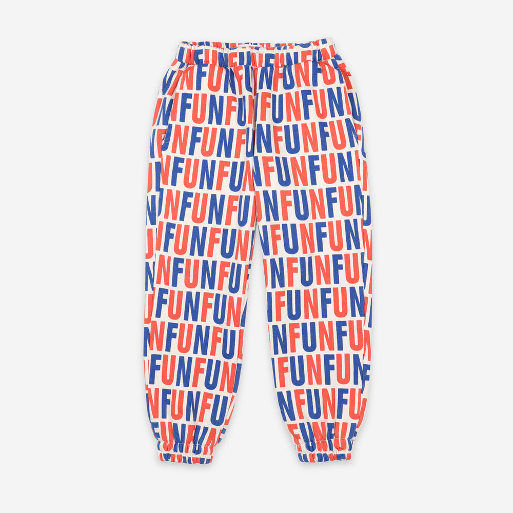 Fun All Over Jogging Pants by Bobo Choses