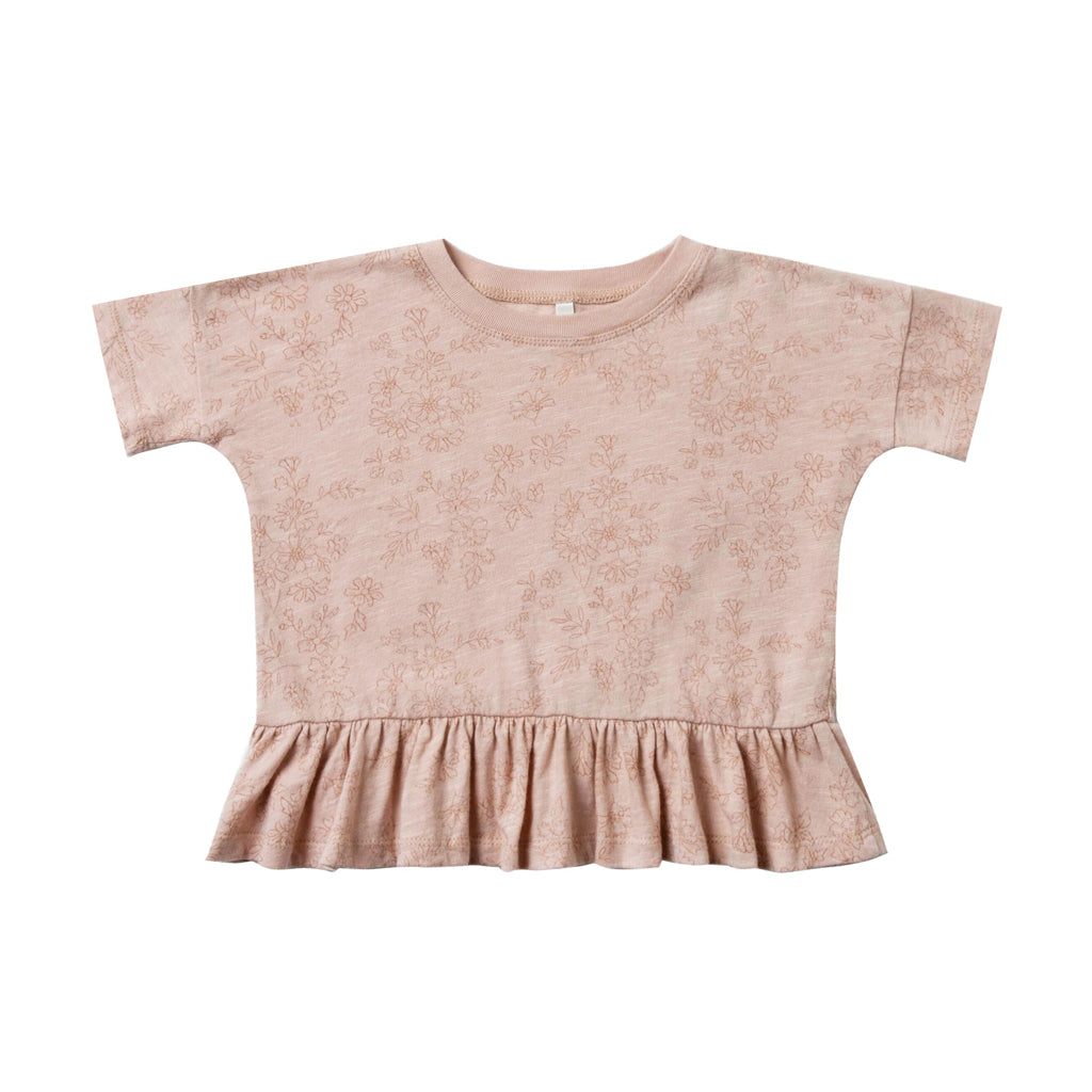 Garden Peplum Tee by Rylee and Cru