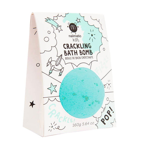 Green Crackling Bath Bomb by Nailmatic