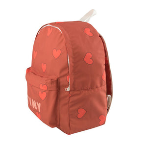 Load image into Gallery viewer, Hearts Big Backpack by Tinycottons