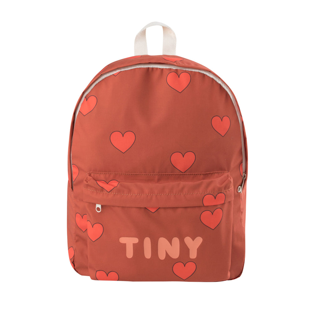 Hearts Big Backpack by Tinycottons