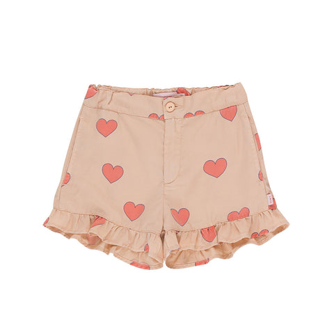 Hearts Frills Short by Tinycottons