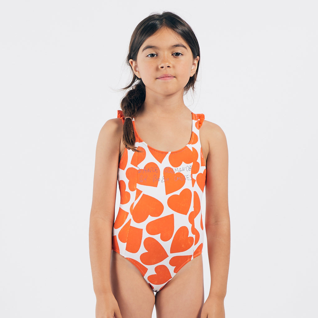 Hearts Swimsuit by Bobo Choses