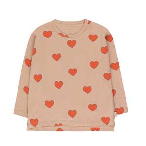 Hearts Tee by Tinycottons