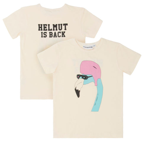 Helmut is Back Cool Tee by Gardner and the Gang