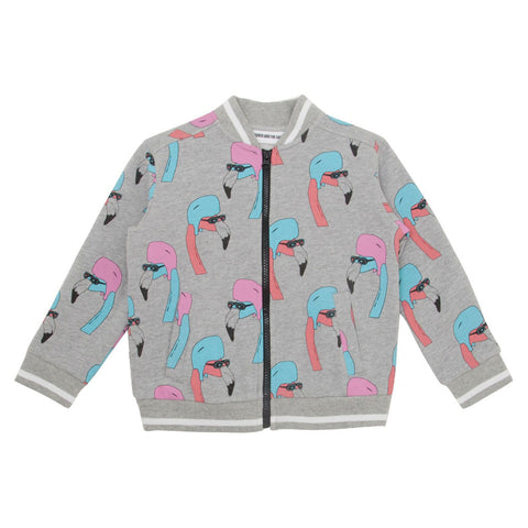 Helmut Flamingo Track Suit Jacket by Gardner and the Gang