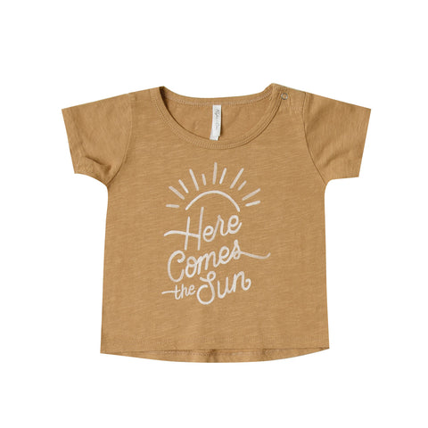 Here Comes the Sun Basic Tee by Rylee and Cru