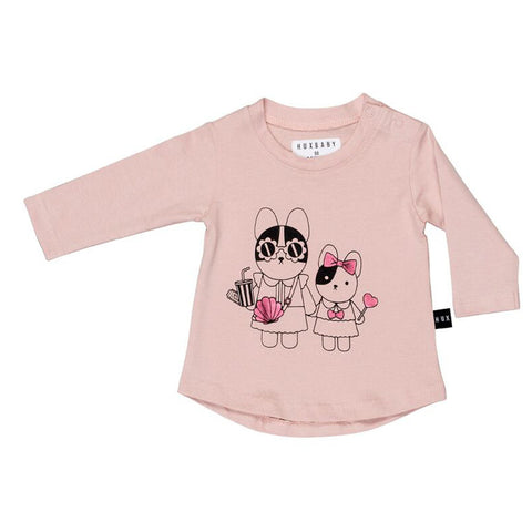 Hey Sister Long Sleeve Tee by Huxbaby
