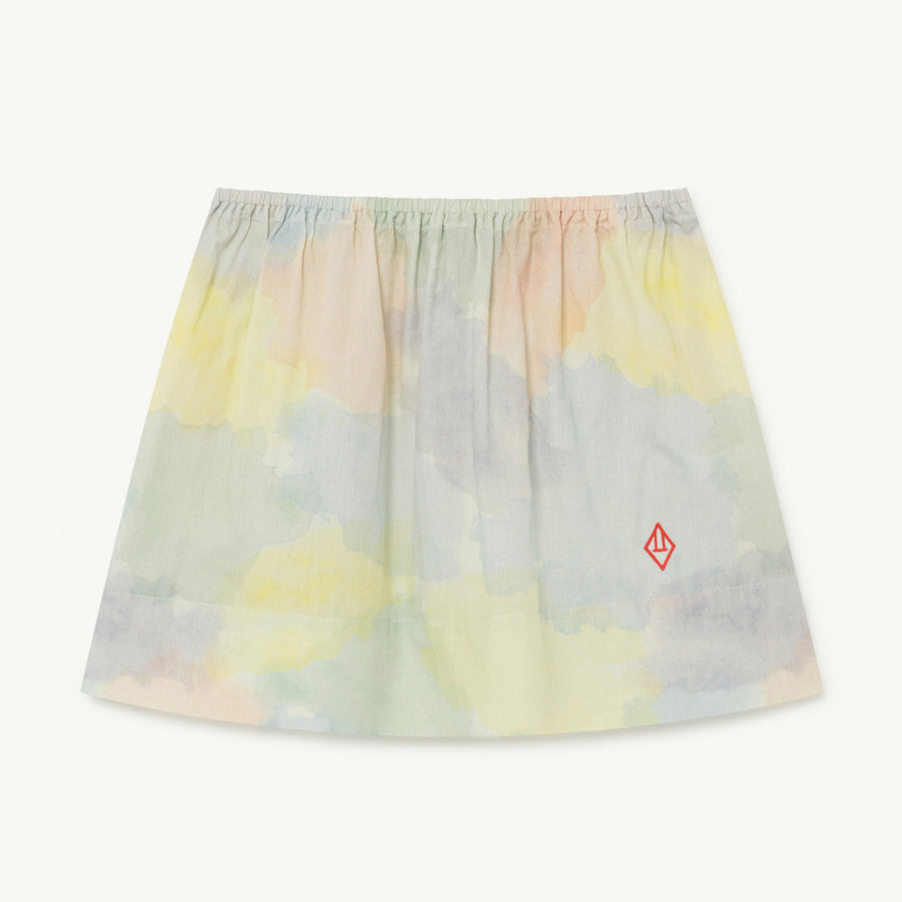 Imapala Kids Skirt in Watercolor by The Animals Observatory
