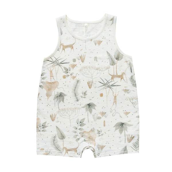Jungle Sleeveless One Piece by Rylee and Cru