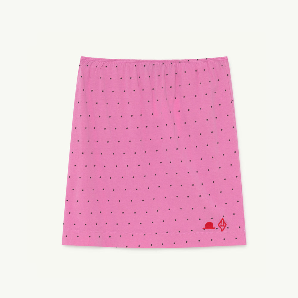 Kitten Kids Skirt Pink Dots by The Animals Observatory