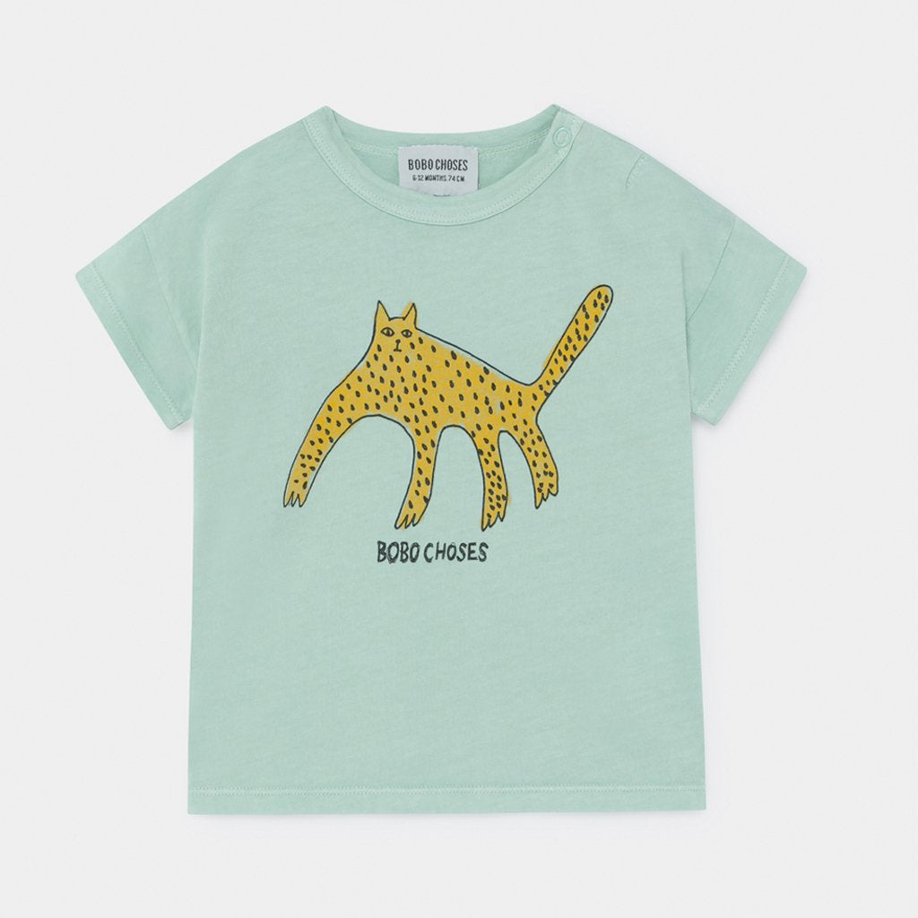 Baby Leopard Tee by Bobo Choses