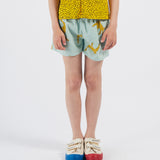 Leopards Woven Shorts by Bobo Choses