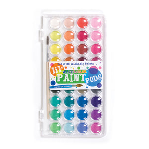 Lil' Watercolor Paint Pods - Set of 36 by Ooly