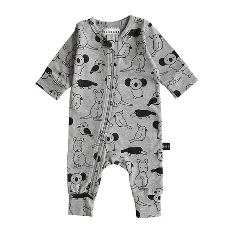 Love Australia Zip Romper by Huxbaby *For Charity*
