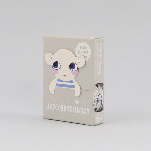Lucky Boy Sunday Masking Paper Tape by Noodoll