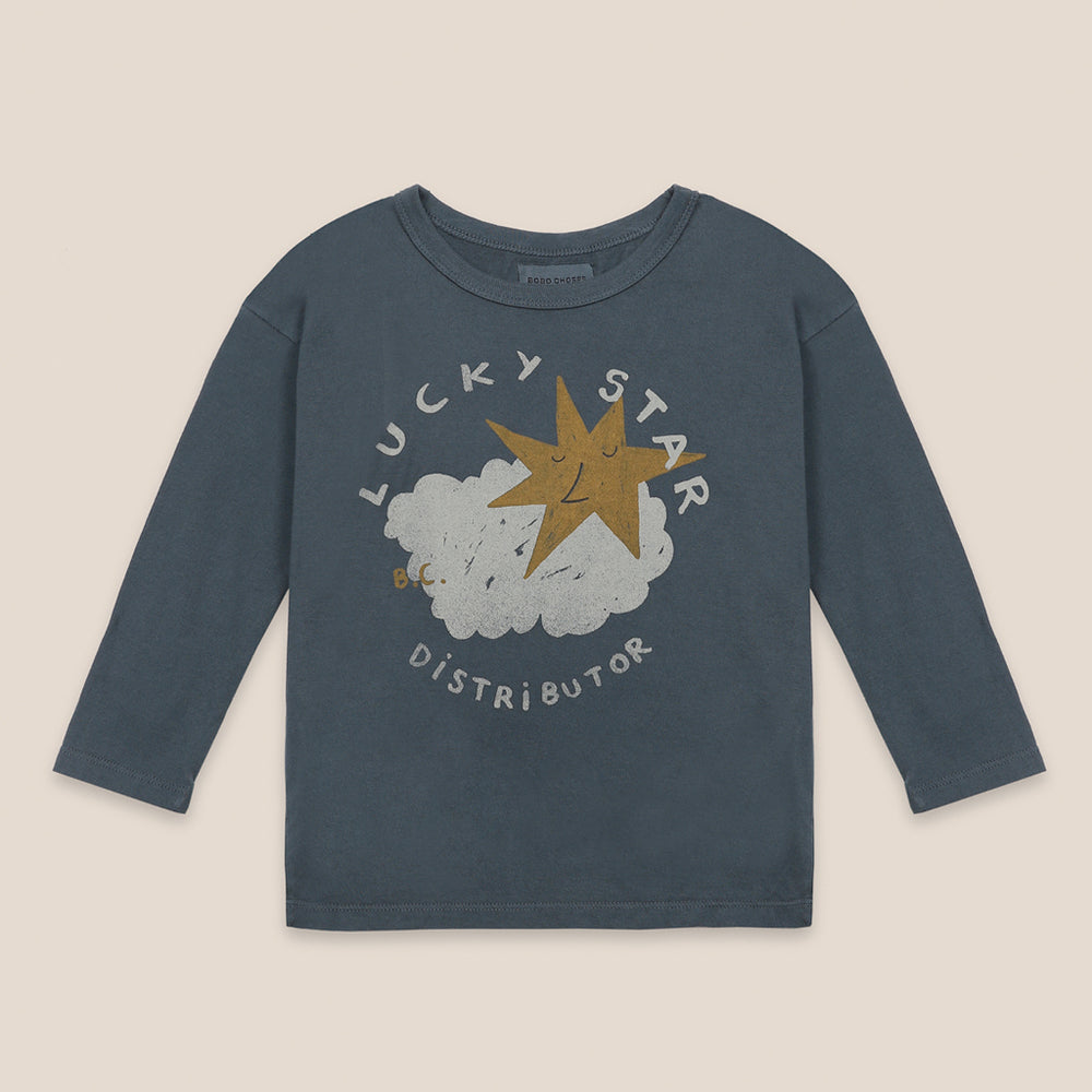 Lucky Star Long Sleeve T-shirt by Bobo Choses