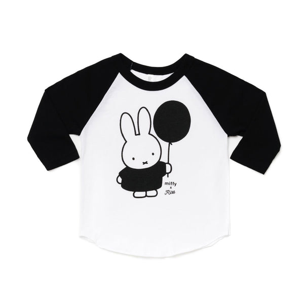 Miffy Balloon Raglan by Kira Kids