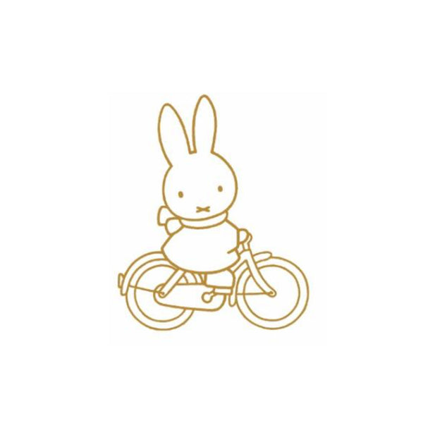 Miffy Bike Enamel Pin by Kira Kids