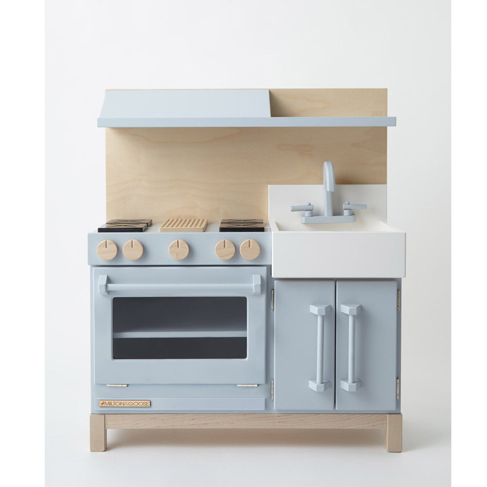 Classic Play Kitchen Gray by Milton and Goose