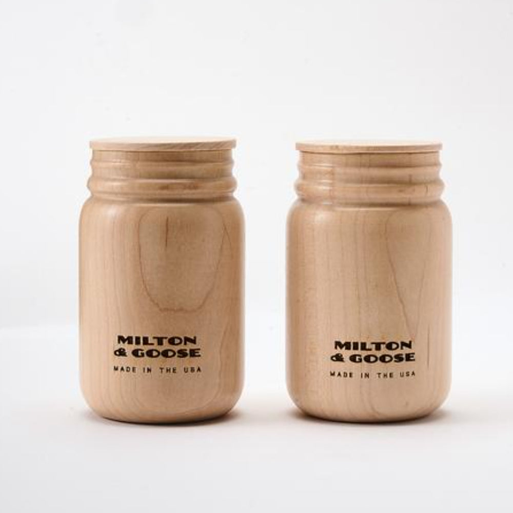 M&G Jars / Set of 2 by Milton and Goose