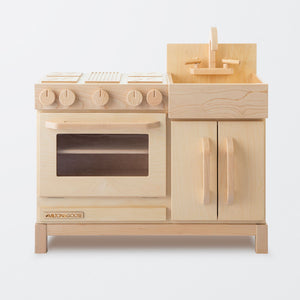 Essential Play Kitchen Natural by Milton and Goose