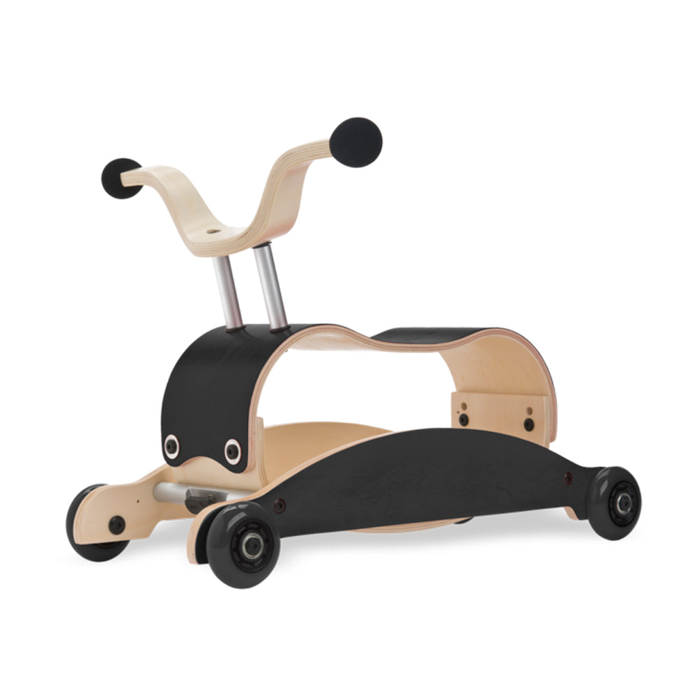 Mini Flip 4 in 1 Walker by Wishbone black